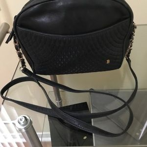 BALLY Quilted Chain Strap Crossbody Shoulder Bag